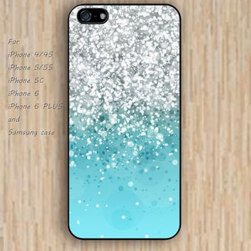 iPhone 5s 6 case sparkle green flowers dream phone case iphone case,ipod case,samsung galaxy case available plastic rubber case waterproof B739