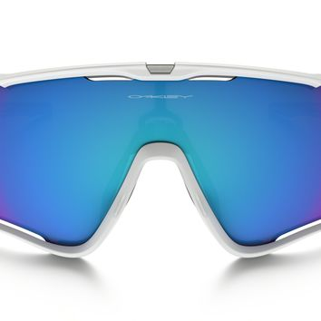 Oakley Jawbreaker PRIZM Snow in POLISHED WHITE / Prizm Snow Sapphire Iridium | Oakley