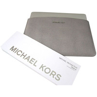 "Michael Kors Sleeve For Macbook Air for 13"" Slim Design Grey Saffiano Leather"