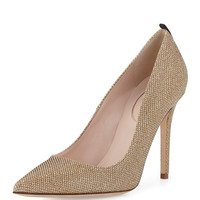Fawn Sparkle Fabric Pump, Bronze - SJP by Sarah Jessica Parker