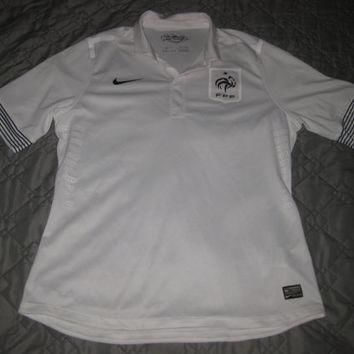 Nike France Away 2012 Soccer Jersey Football Shirt Size XL Free shipping within the US