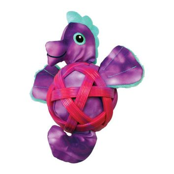 Kong Sea Shells Seahorse Dog Toy