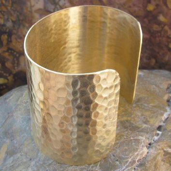 Cuff bracelet blank Textured 3 inch - 1 pieces
