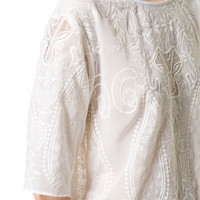 EMBROIDERED TOP - Tops - Woman | ZARA United States