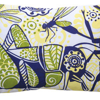 13 x 20 Grasshopper Pillow design by Koko Company