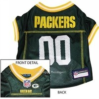 NFL Green Bay Packers Dog Jersey - Sports Apparel - Licensed NFL Wear Posh Puppy Boutique