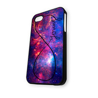 Young in Infinity Galaxy Nebula iPhone 5/5S Case