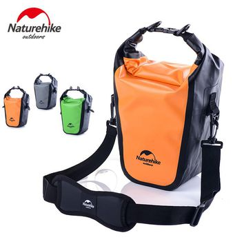 Naturehike Waterproof Dry Sack Shoulder Bag Hold Phone And Camera For Men Women Outdoor Travel Camping Swimming Boating Kayaking