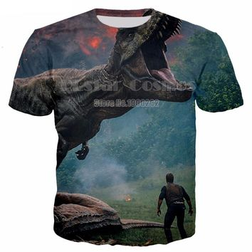 Dinosaur All Over Print T-shirt