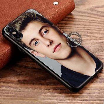 Shawn Mendes Hair Blonde iPhone X 8 7 Plus 6s Cases Samsung Galaxy S8 Plus S7 edge NOTE 8 Covers #iphoneX #SamsungS8