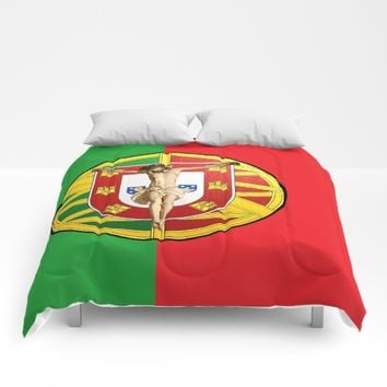 Portuguese religious culture Comforters by Tony Silveira