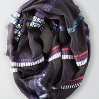 AEO Women's Embroidered Infinity Scarf