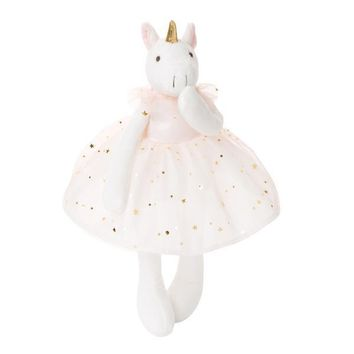 AVA TUTU UNICORN PLUSH TOY 15""