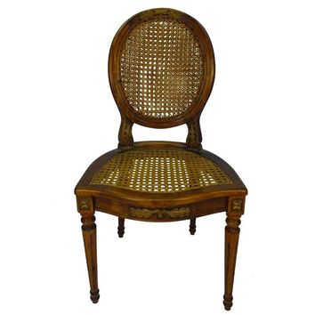 Pre-owned Antique Italian Louis XVI Style Chair