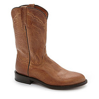 Lucchese Since 1883 Men's Mad Dog Goat Roper Western Boots - Tan