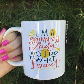 Grown-Ass Lady Mug
