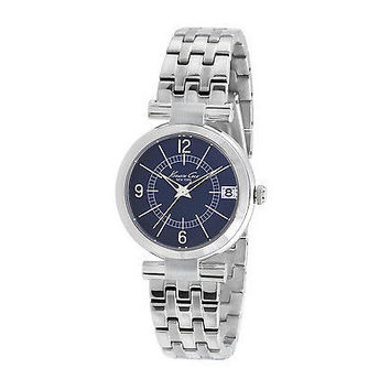 Kenneth Cole New York KC4868 Classic Round Blue Dial Women's Stainless Watch