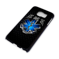 EMT EMS MEDICAL Logo Cover Samsung Galaxy S3 S4 S5 S6 Edge Note Mini Case