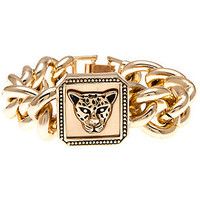 Accessories Boutique Bracelet Chained Up Tiger in Gold