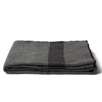 Wool Camp Blanket - Grey