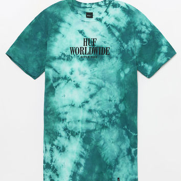 HUF Worldwide Washed T-Shirt at PacSun.com