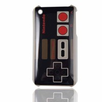 Classic Controller Game Hard Plastic Case (Back Side Only) for Iphone 3G & 3GS