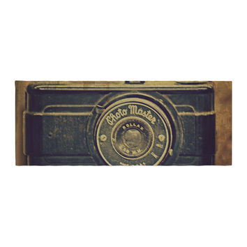 "Robin Dickinson ""Discarded Treasure"" Vintage Camera Bed Runner"