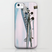Vintage aviation photograph of an Alaska Airlines airplane air plane classic pilot flight photo iPhone & iPod Case by iGallery