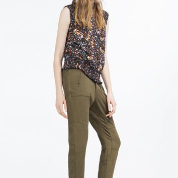 PRINTED BLOUSE - TOPS-SALE-WOMAN | ZARA United Kingdom