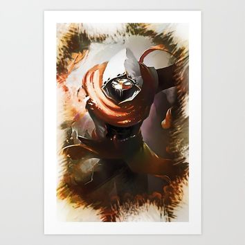 League of Legends MALHAZAR Art Print by naumovski