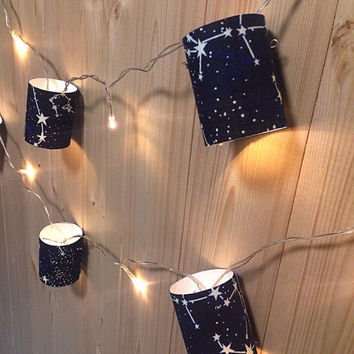 Star Constellation String Fairy Lights.Glow In The Dark!
