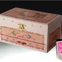 Gorgeous Spinning Ballerina Music Jewelry Box, Every Little Girl's Dream ONLY 24.99
