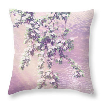Pink Pillow, Floral Pillow, Floral Cushion, Spring Pillow, Outdoor seat cushion, Flower Pillow, Throw Pillow, Spring Pillow, Photo Art Decor