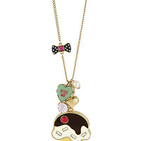 BetseyJohnson.com - ICE CREAM CONE PENDANT MULTI