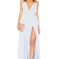 Lovers + Friends Leah Gown in Periwinkle