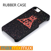 Fall Out Boy Sparkle iPhone 4/4S, 5/5S, 5C, 6/6 Plus Series Rubber Case