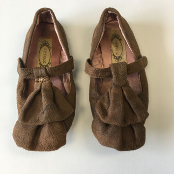 JoyFolie Brown Suede Size-11