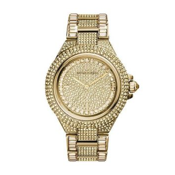 DCCKRQ5 Michael Kors Women's Camille Gold-Tone Watch MK5720