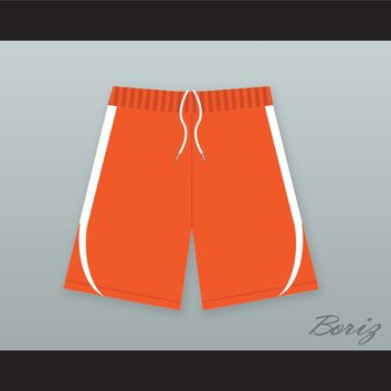 Harlem Money/ Buckets Orange Basketball Shorts Uncle Drew