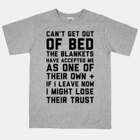 Can't Get Out Of Bed | HUMAN