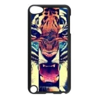 Tiger Roar Cross Hipster Quote Case for IPod Touch 5th