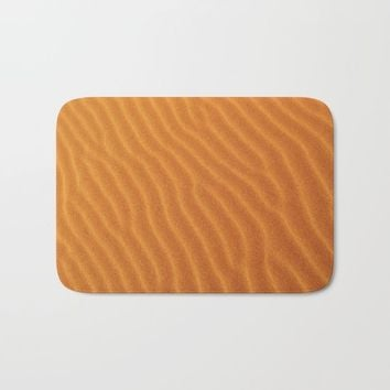 Golden Sand Bath Mat by Creativepics