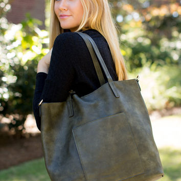Knoxville Tote - Olive