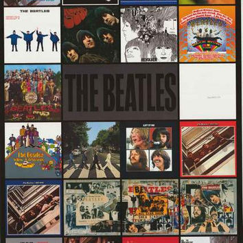 The Beatles Album Covers Poster 22x34