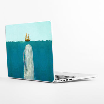 The Whale Laptop Skin