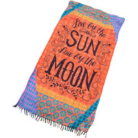 Sun And Moon Beach Towel LAVELIQ