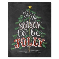 Tis The Season To Be Jolly - Print & Canvas