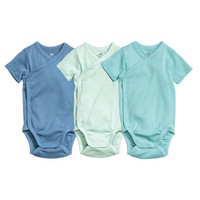 3-pack Wrapover Bodysuits - from H&M