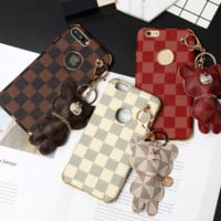 LV BEAR CUTE iphone case protector for IPHONE 6/6s/6plus/7p/8p