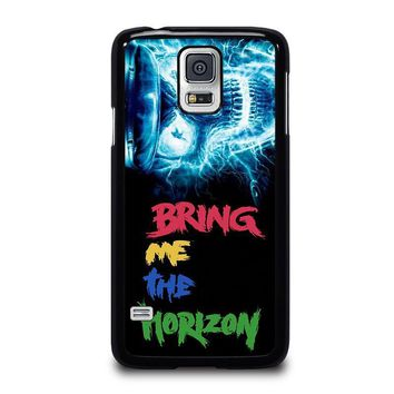 electric skull bone samsung galaxy s5 case cover  number 1